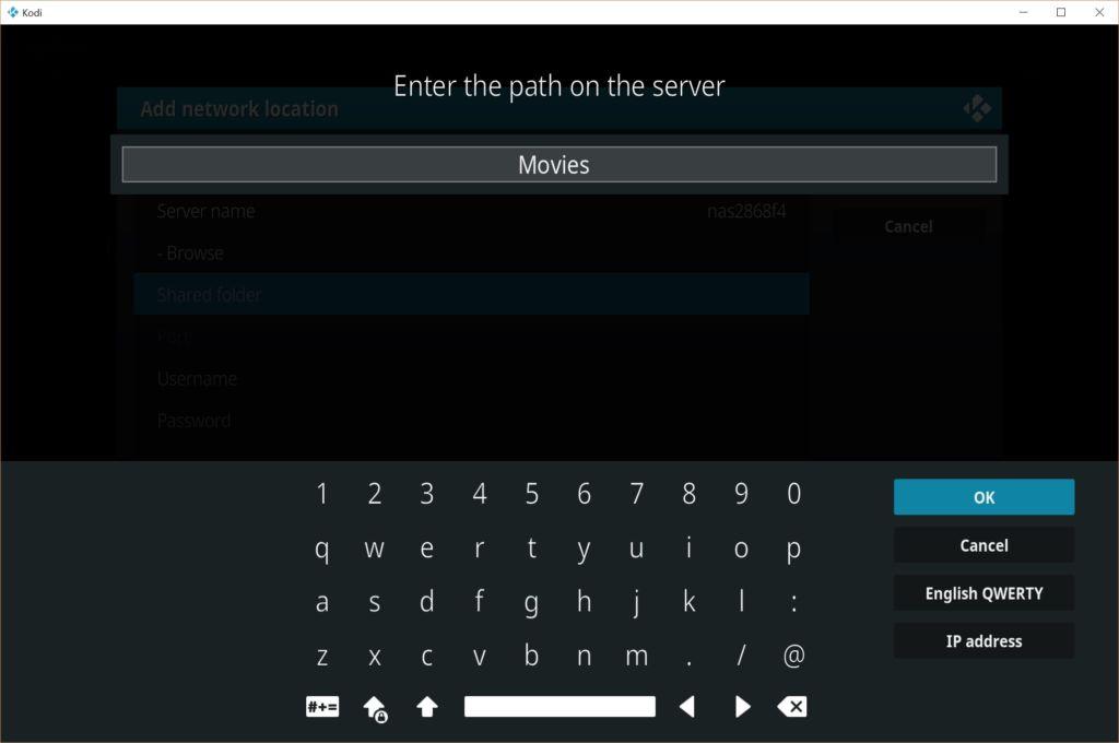 Como configurar o Kodi para trabalhar com um NAS