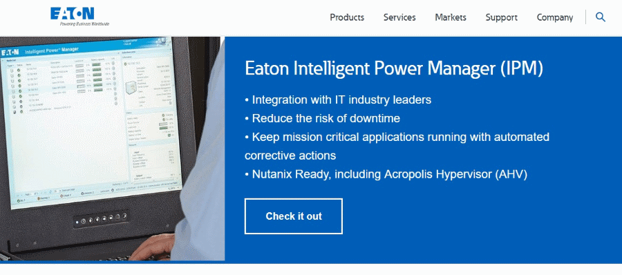 Eaton Intelligent Power Manager