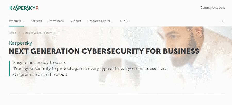 Kaspersky Lab Business Endpoint Security