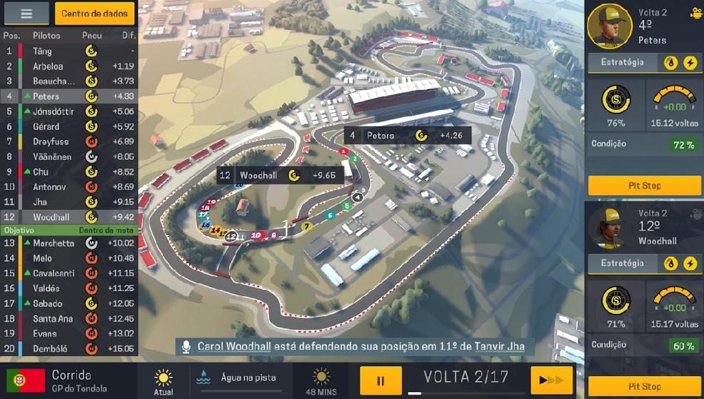 App do Dia - Motorsport Manager Mobile 2