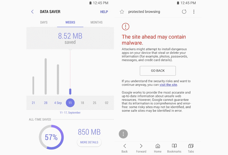 Samsung Internet Android