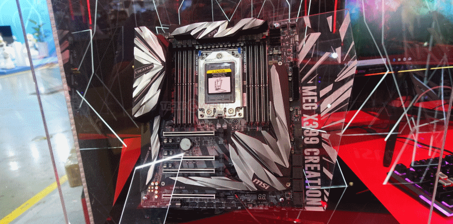 TechPowerUp MSI MEG X399 Creation