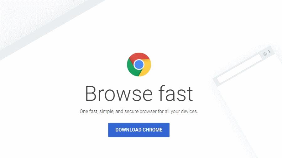 Chrome Web Browser