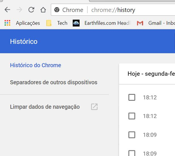 Historico Chrome1