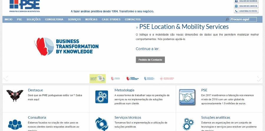PSE – Produtos e Serviços de Estatística