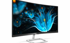 Vem aí um novo monitor Philips com ecrã curvo