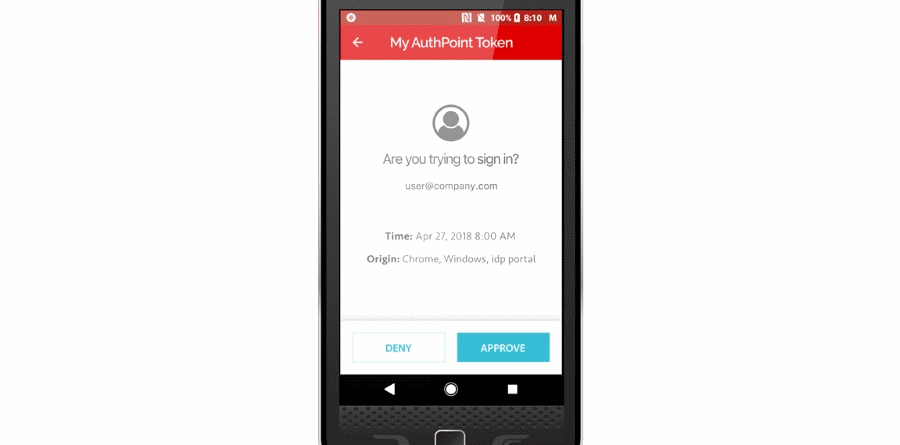 WatchGuard AuthPoint Android