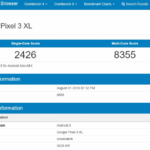 Geekbench Google Pixel 3 XL
