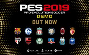 Já está disponível versão de demonstração de PES 2019
