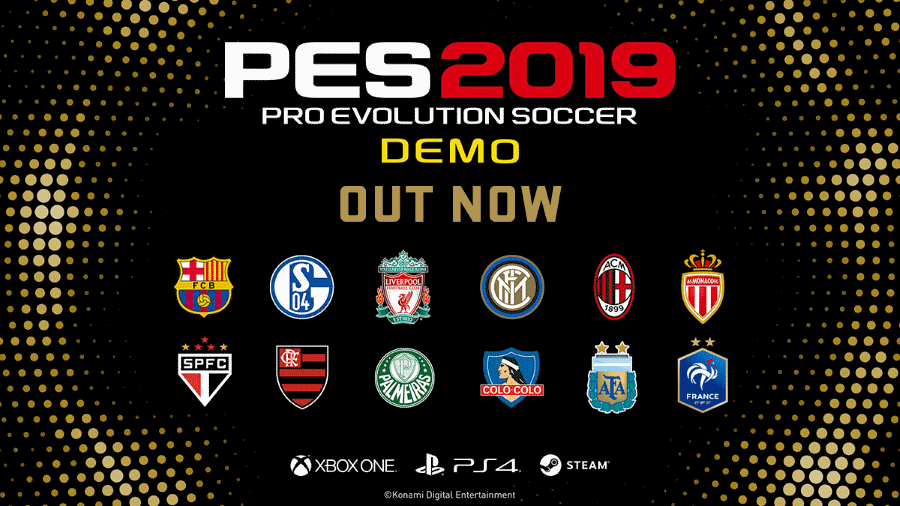Konami PES 2019