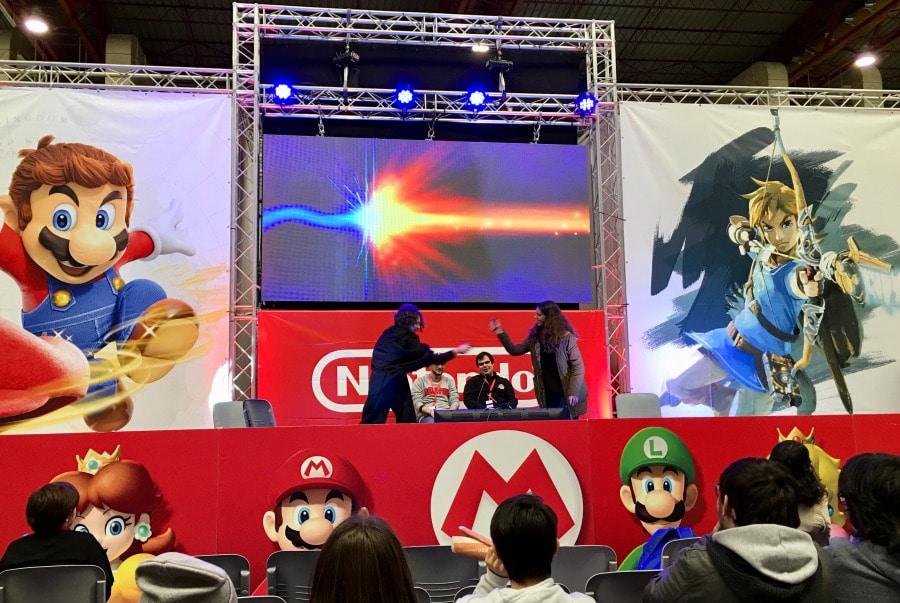 Nintendo Evento