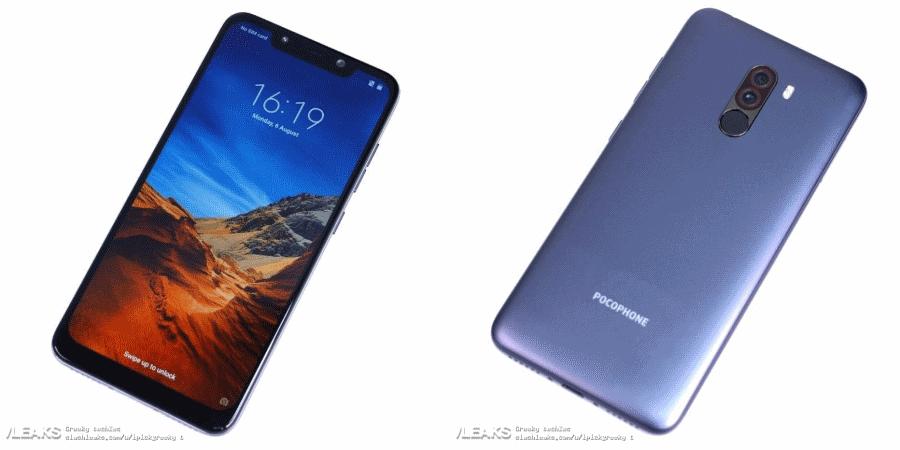 Slashleaks Xiaomi Pocophone F1