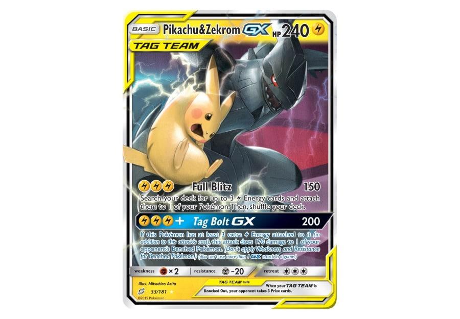 The Pokémon Company Pikachu Zekrom