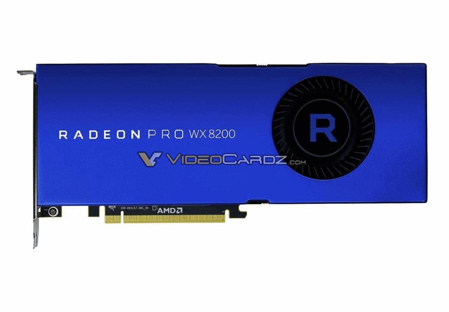 Videocardz Radeon PRO WX 8200