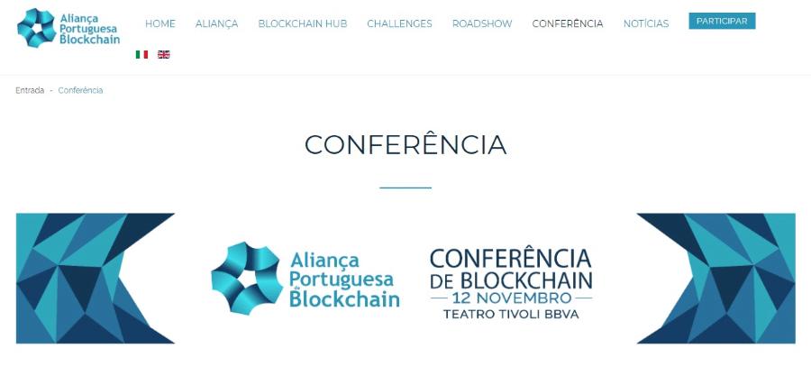 Aliança Portuguesa de Blockchain Conferência
