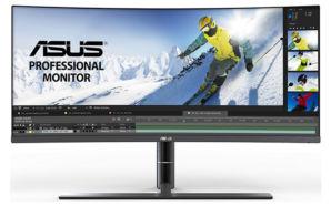 Asus tem um novo monitor curvo profissional de 34 polegadas