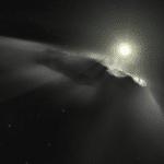ESA Artist impression of Oumuamua