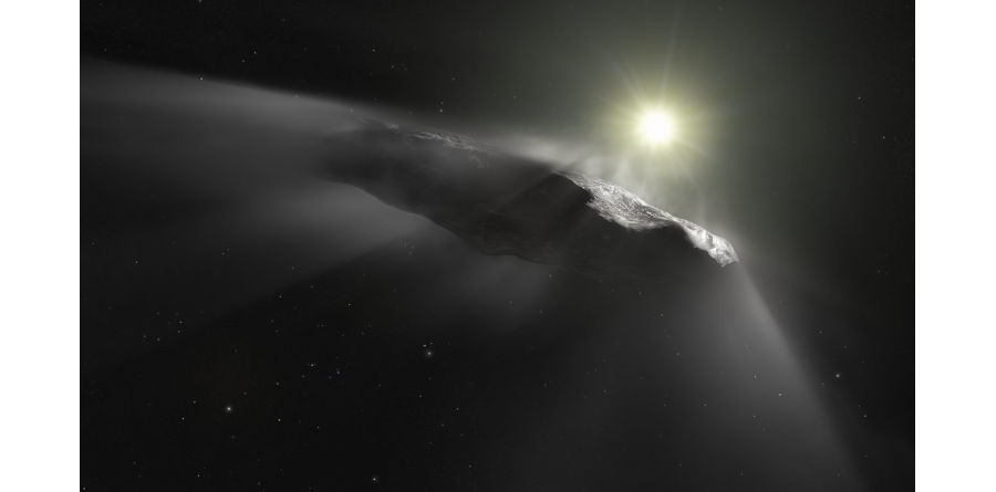 ESA Artist impression of Oumuamua