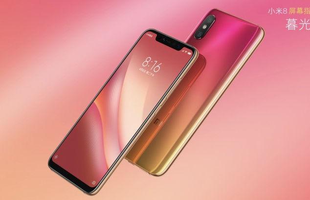 GSMArena Xiaomi Mi 8