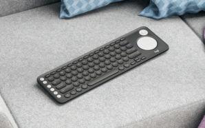 Logitech lança um novo teclado para Smart TV