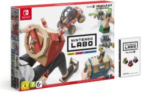 Nintendo Labo Toy-Con 03: Vehicle Kit já está disponível em…