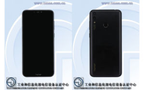 TENAA Honor 8C