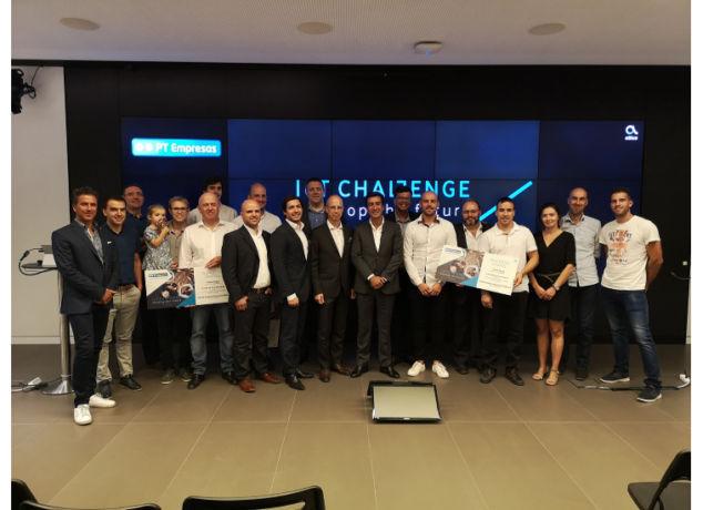 Vencedores IoT Challenge