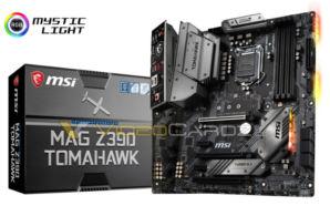 Videocardz MSI MAG Z390 Tomahawk