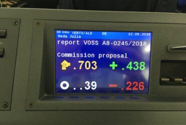 Votação Parlamento Europeu