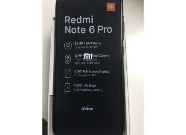 Xiaomi Redmi Note 6 Pro 1