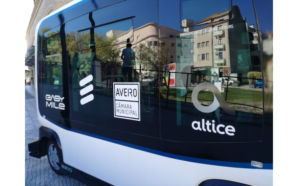 Altice Portugal Caso de Uso 5G Mini Bus