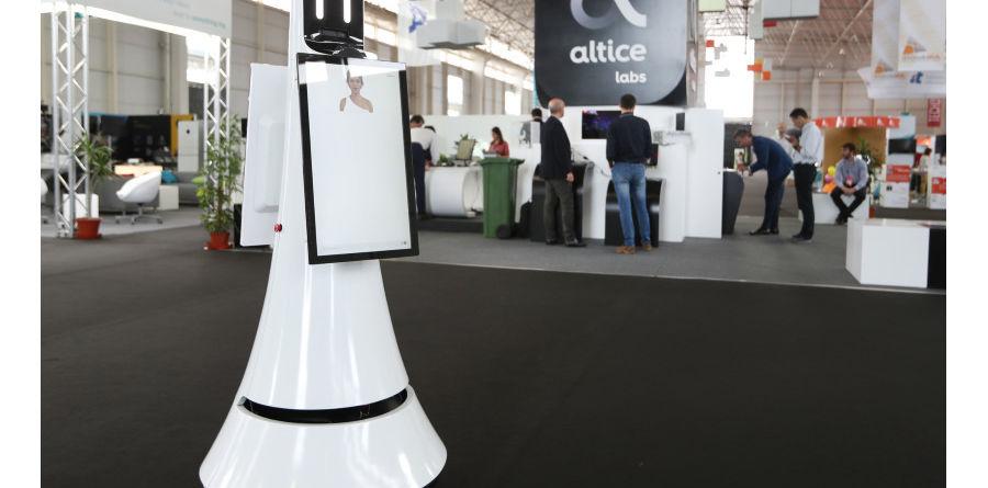 Altice Portugal Robô Alice @Techdays Aveiro