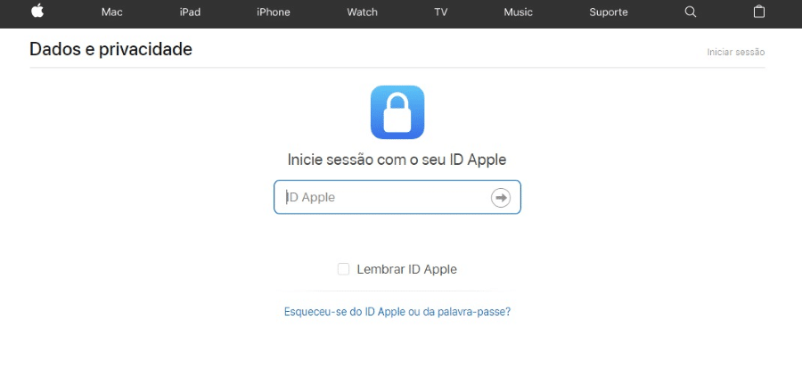 Apple ID Data Privacy