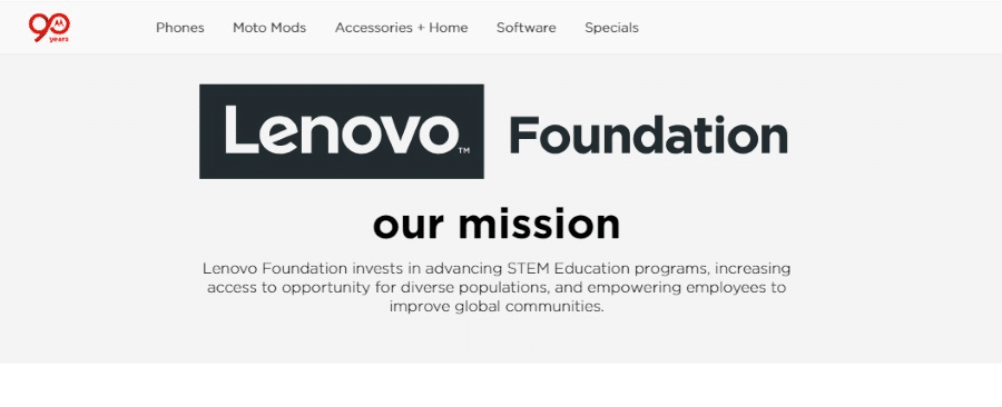 Lenovo Foundation