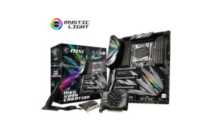 MSI revela a motherboard X299 MEG Creation