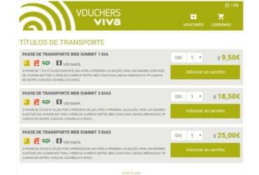 Metropolitano de Lisboa Vouchers Viva