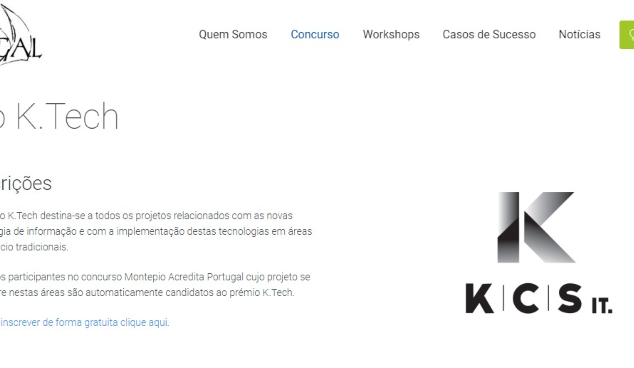 Prémio K Tech Acredita Portugal