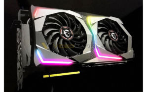 Videocardz MSI GeForce RTX 2070 Gaming X