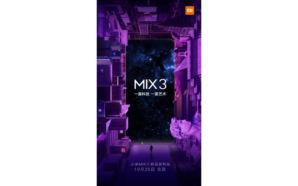 Xiaomi vai apresentar o Mi MIX 3 no dia 25…
