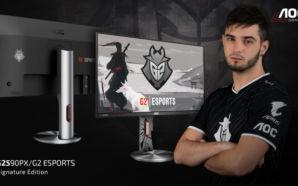 Conheça o monitor G2590PX/G2 – G2 Esports Signature Edition da…