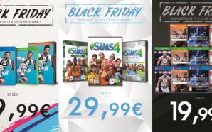 Promoções de Black Friday da Electronic Arts