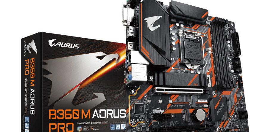 Gigabyte B360 M Aorus Pro