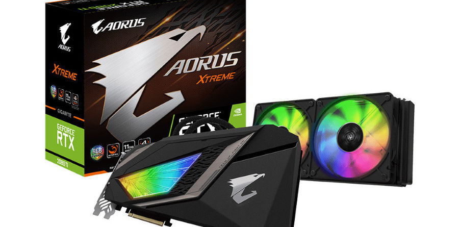 Gigabyte RTX 2080 Ti Aorus WaterForce Xtreme AIO