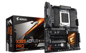 Gigabyte lança nova motherboard para chips AMD Ryzen Threadripper