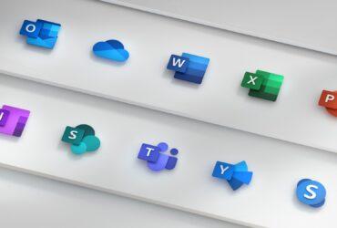 Icones novos Office 2