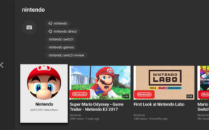 YouTube chega à Nintendo Switch