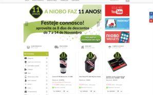 Niobo festeja 11.º Aniversário com descontos até 14 de Novembro