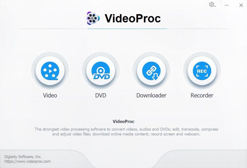 VideoProc Principal