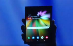 Samsung apresenta o seu conceito para um smartphone com ecrã…