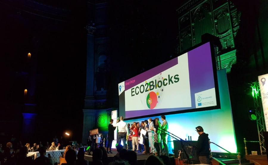UPTEC ClimateLaunchpad eCO2blocks
